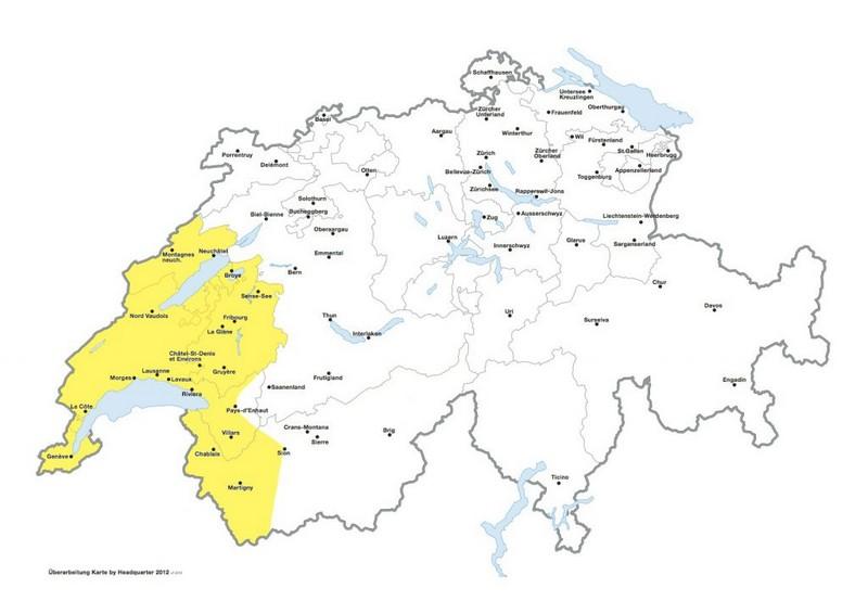 Carte Suisse Francophone.Sico Food Trading Importation De Poissons Suisse Romande